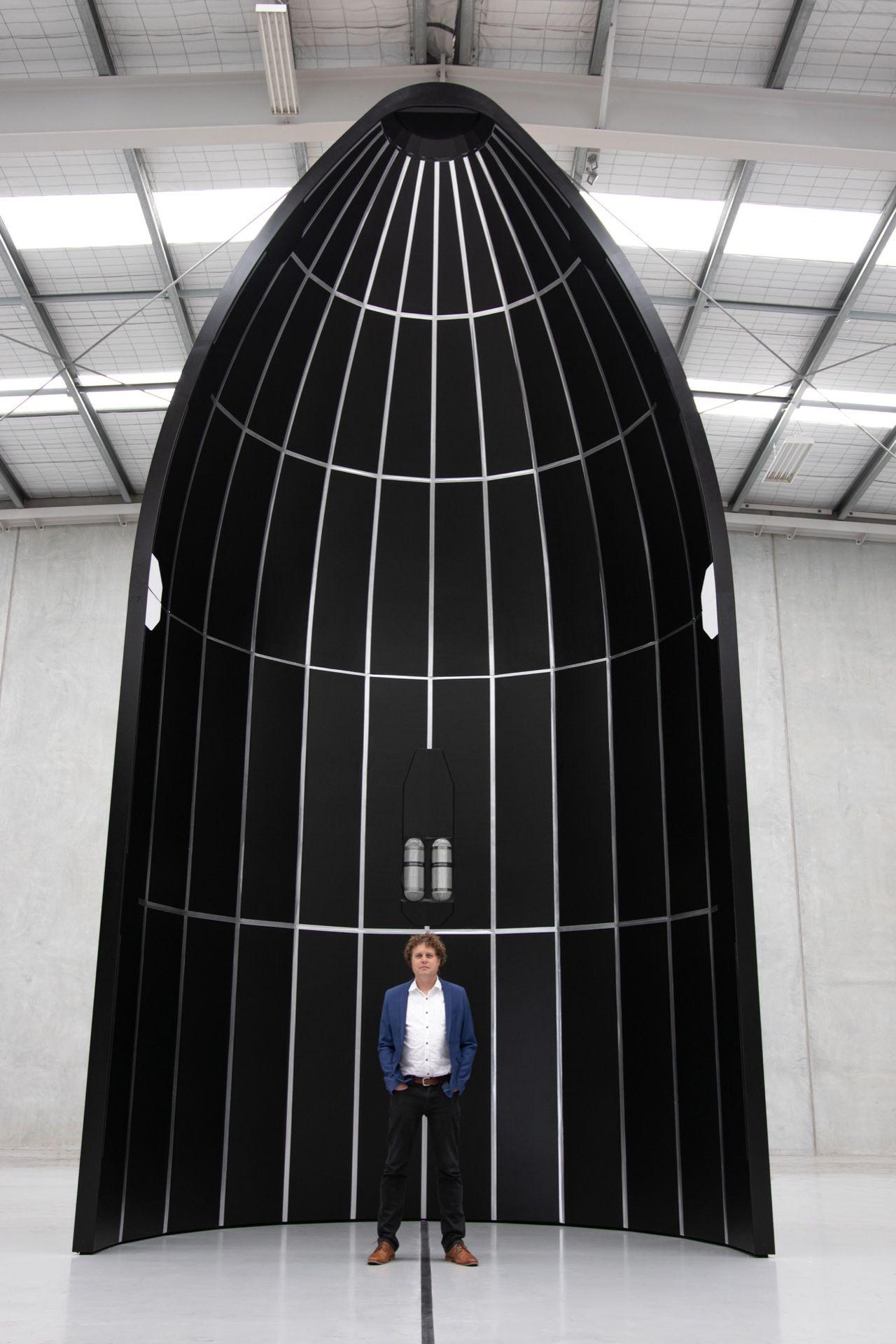 Rocket Lab presenterar raketen Neutron