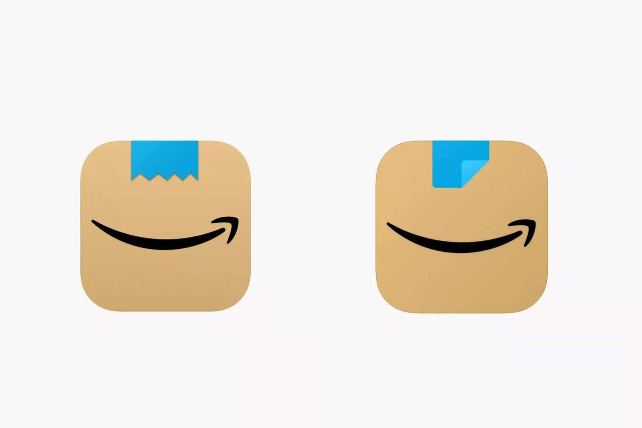 Amazon designar om sin nya app-ikon