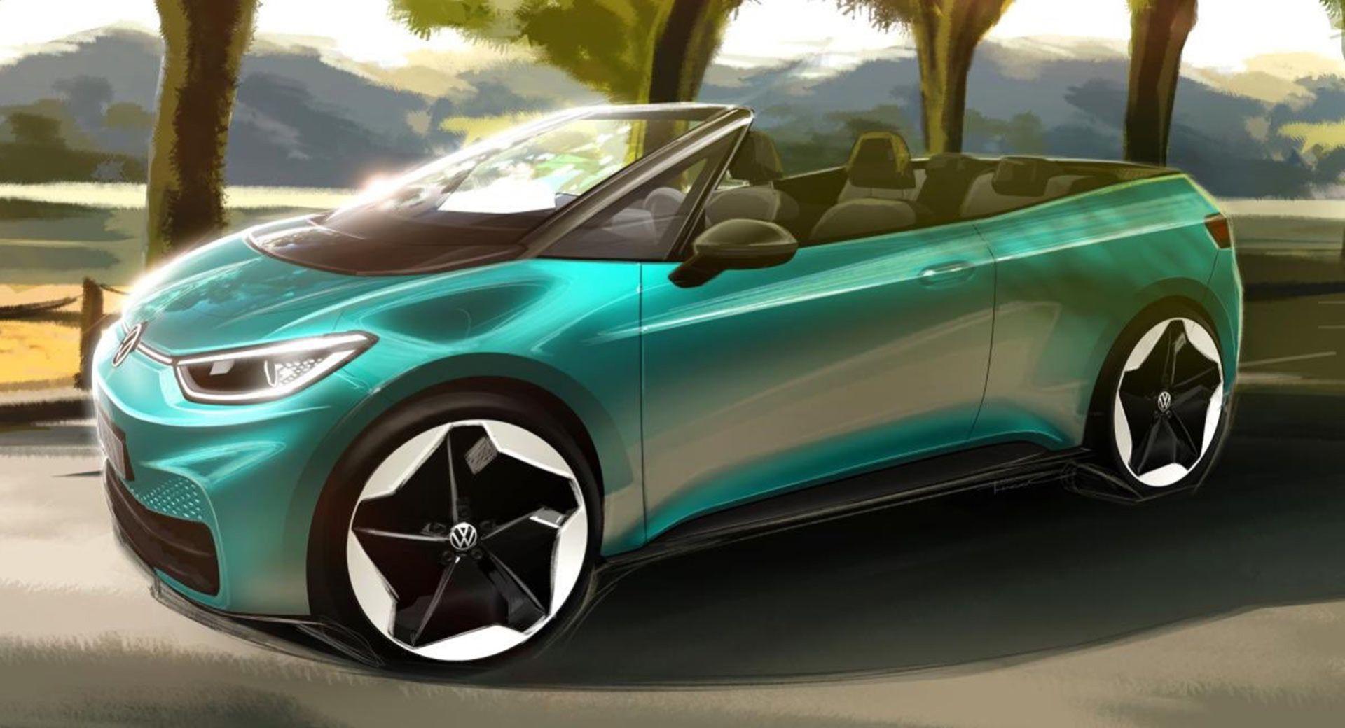 Volkswagen funderar på ID.3 som cabriolet