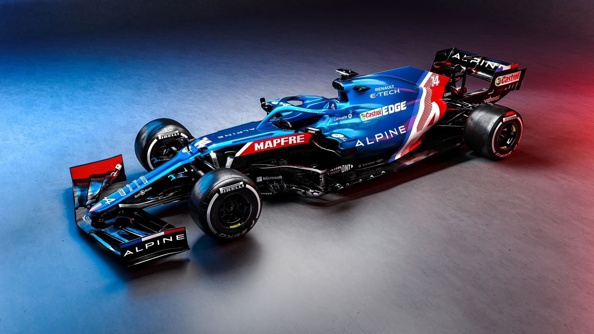Alpine F1 visar nya bilen