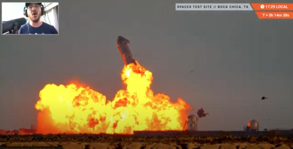 Kolla in när SpaceX testar Starship SN10