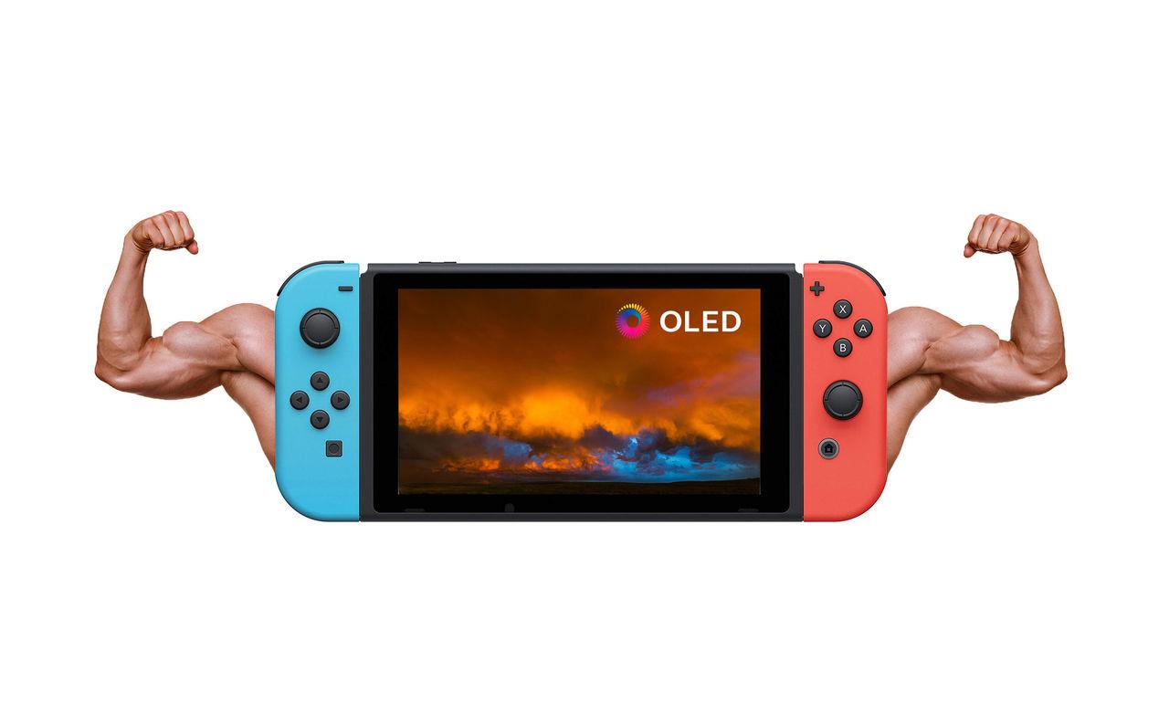 Nintendo Switch med OLED och ryktas släppas i år