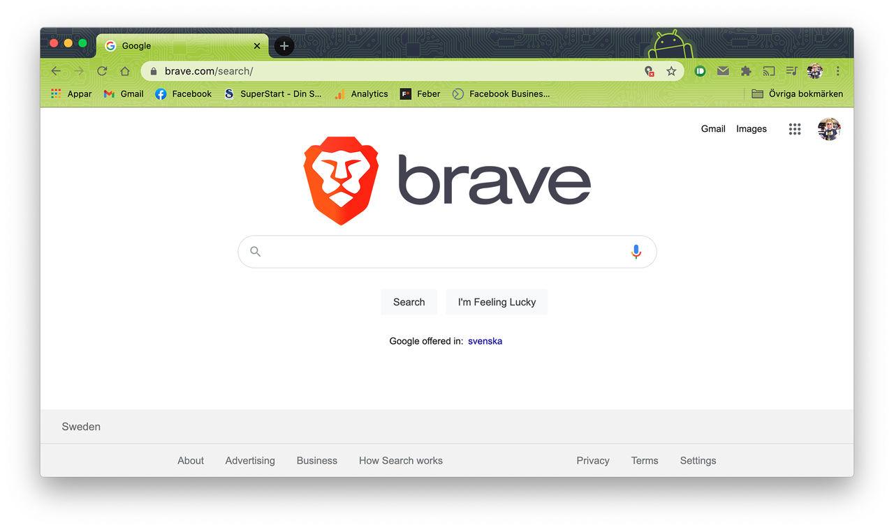 Brave utvecklar en egen sökmotor