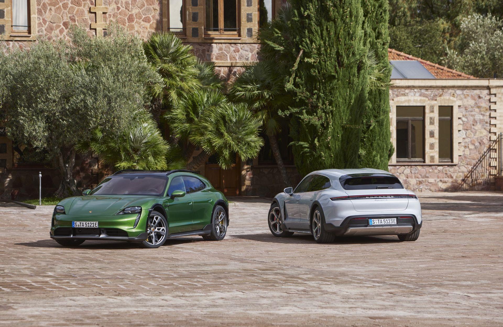 Porsche rullar ut Taycan Cross Turismo