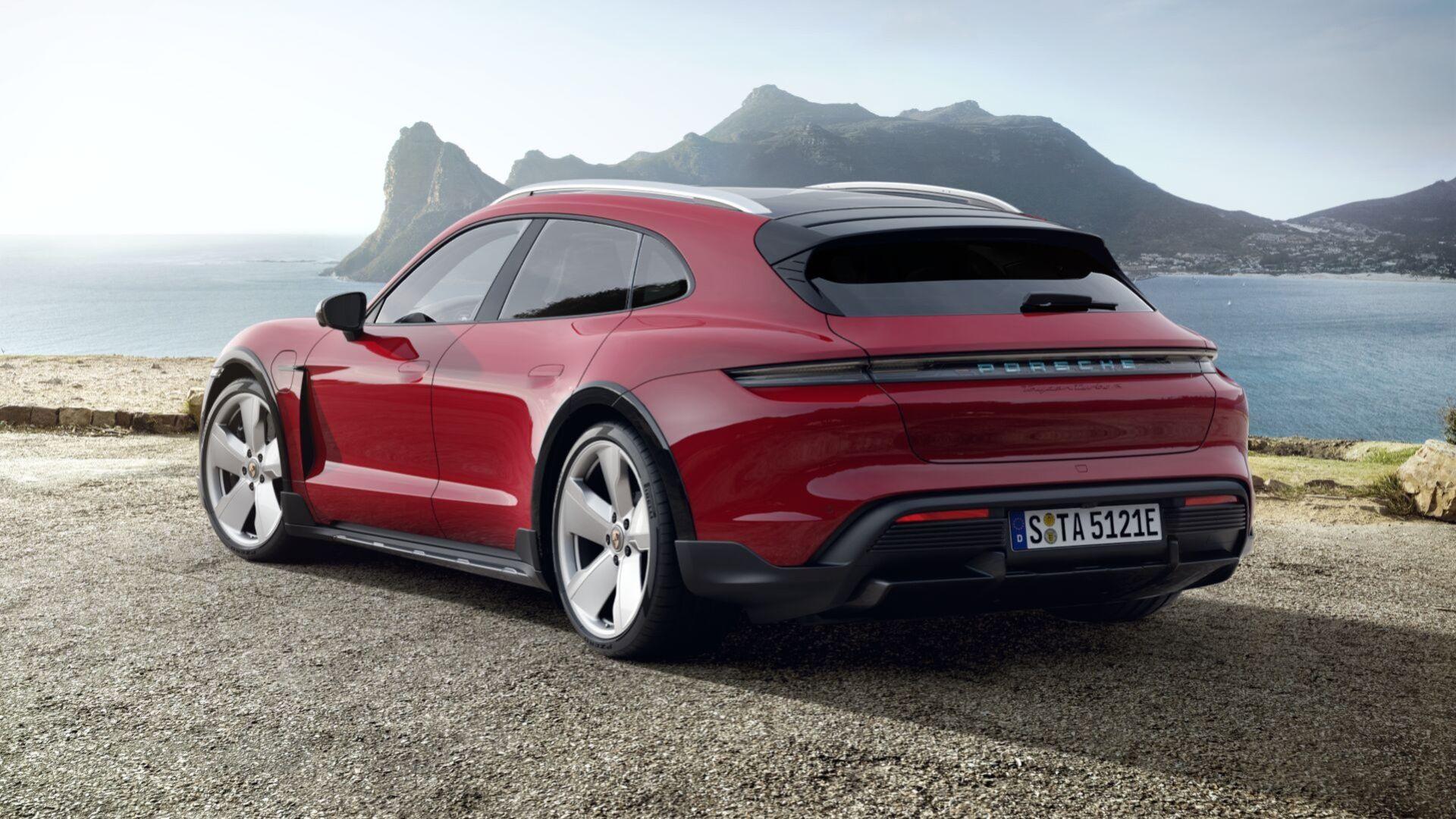 Bygg din Porsche Taycan Cross Turismo