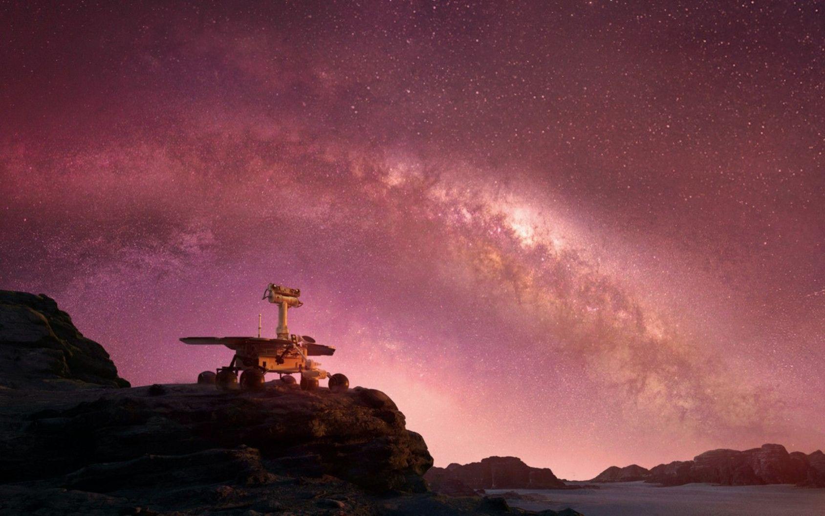 Amazon gör film om mars-rovern Opportunity