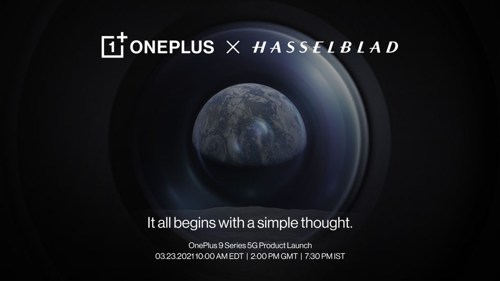 OnePlus 9 presenteras 23 mars