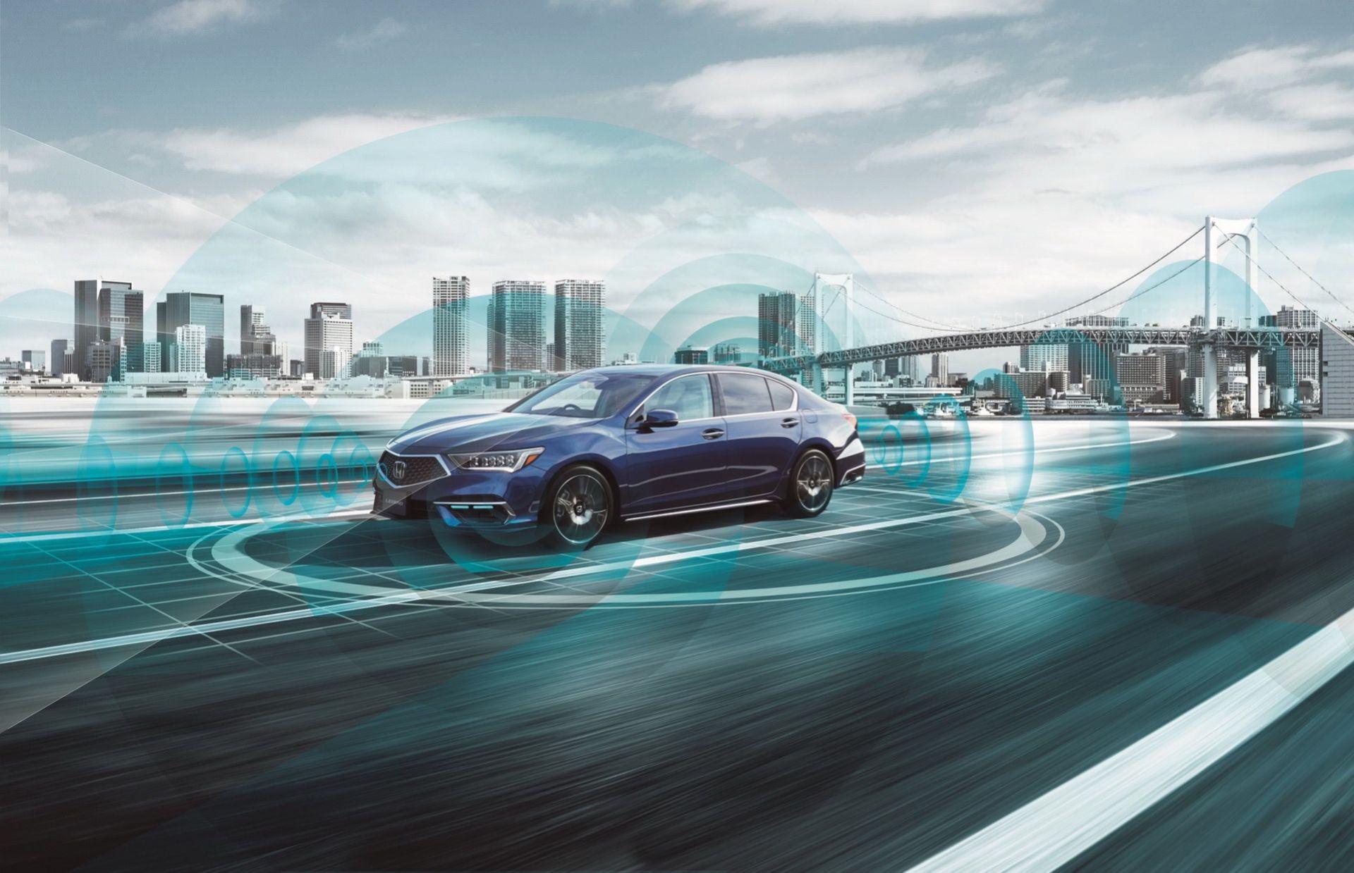 Honda presenterar världens första bil med självkörning i nivå 3