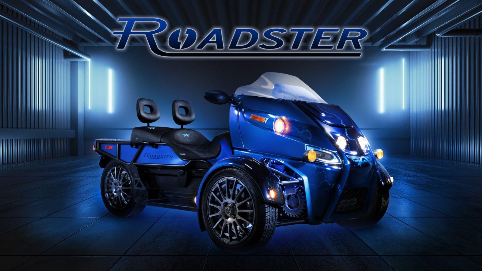 Arcimoto har en ny eldriven trehjuling på gång