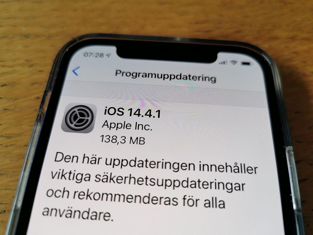 Apple släpper uppdatering till säkerhetslucka i WebKit