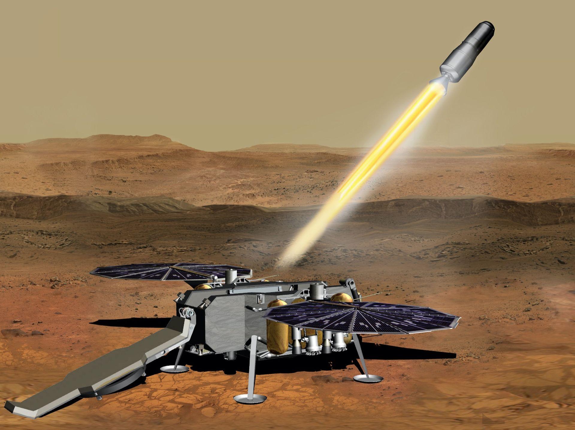 NASA beställer system som kan hämta hem prover från Mars