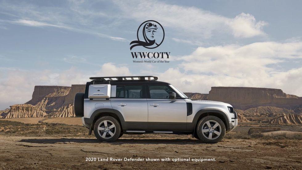 Årets kvinnobil är Land Rover Defender