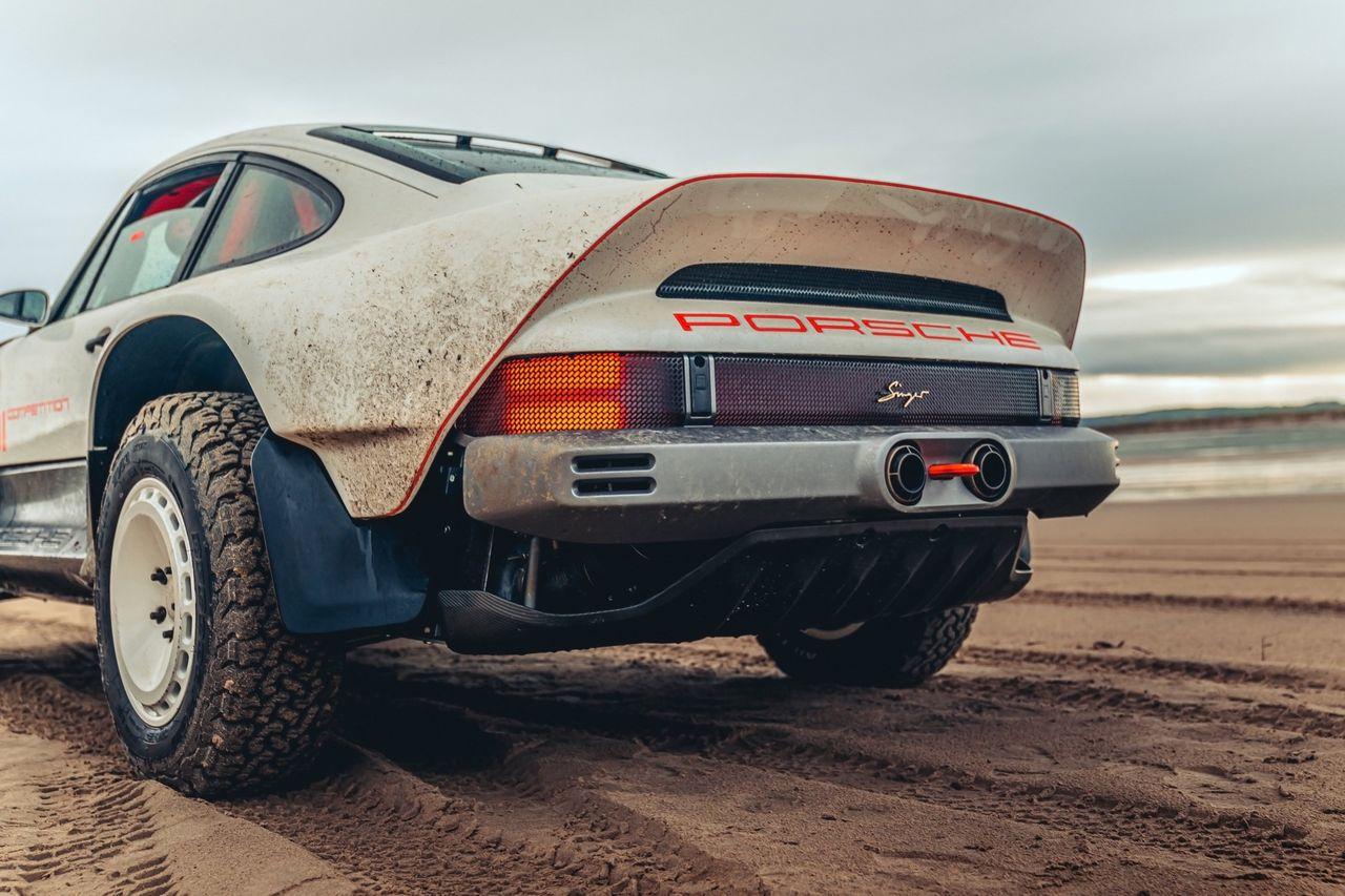 Porsche sura på Singers senaste bygge