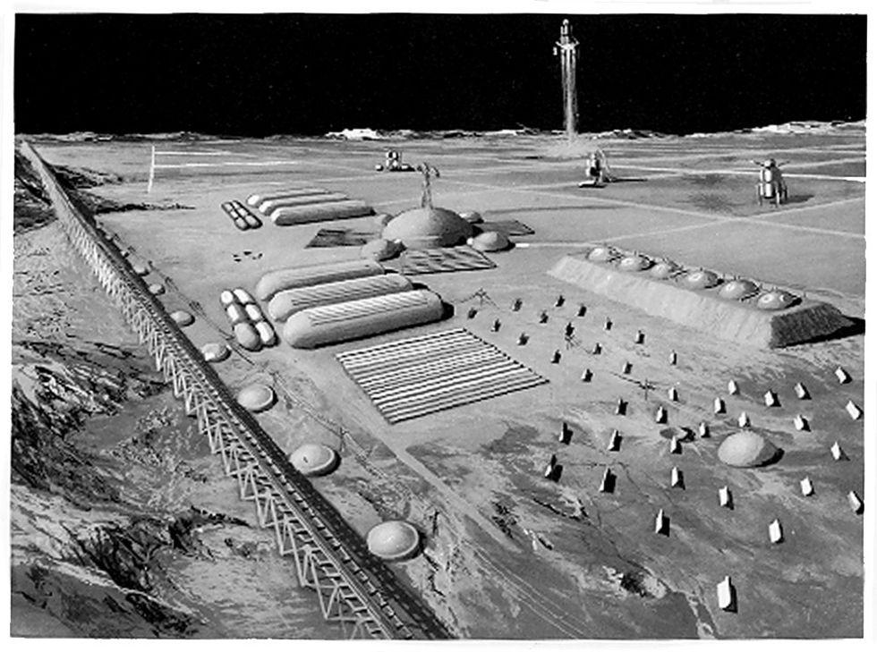 Kina och Ryssland ska bygga en månbas tillsammans