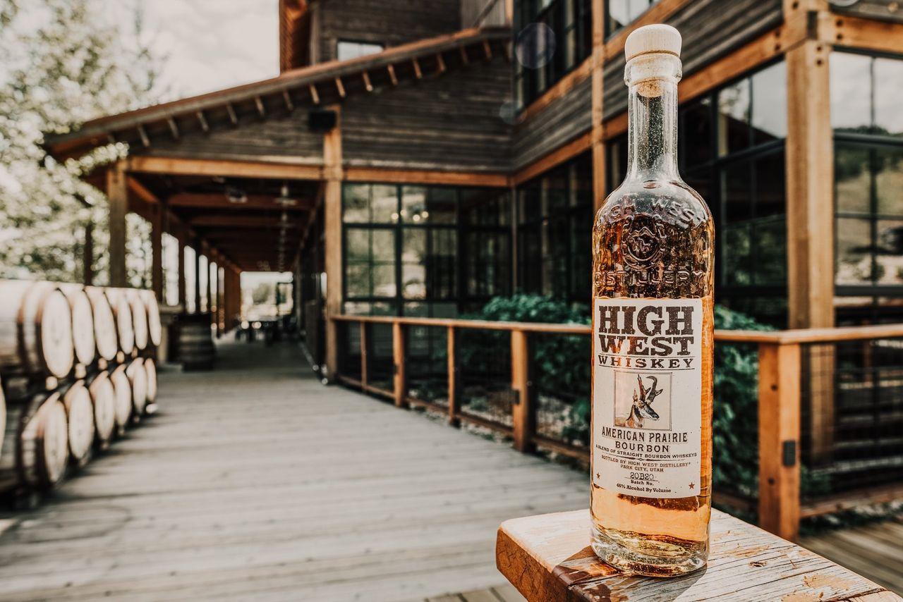 Utahs första lagliga whiskey sedan 1800- talet