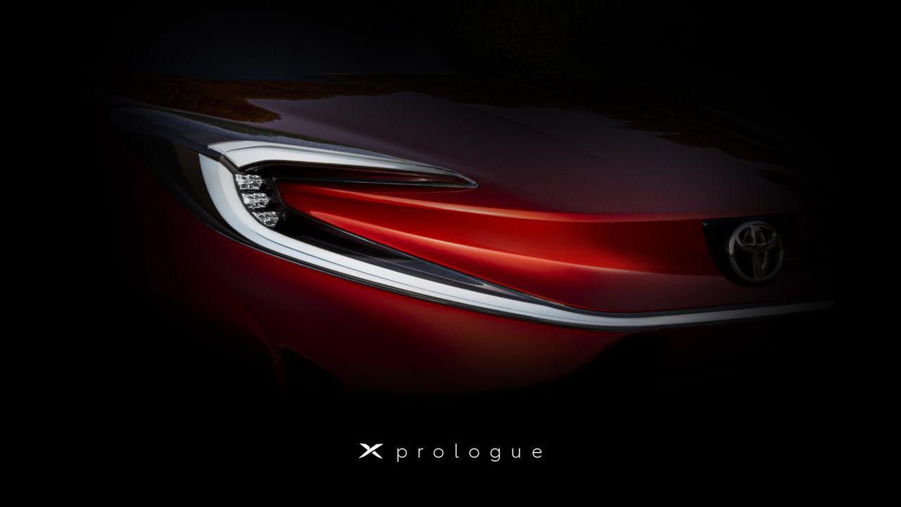 Toyota smygvisar X Prologue