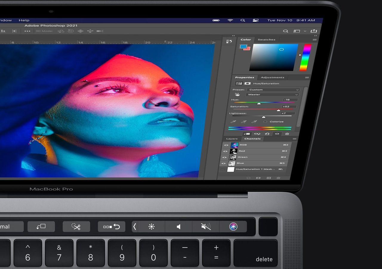 Nu släpps Photoshop med stöd för Apple Silicon M1