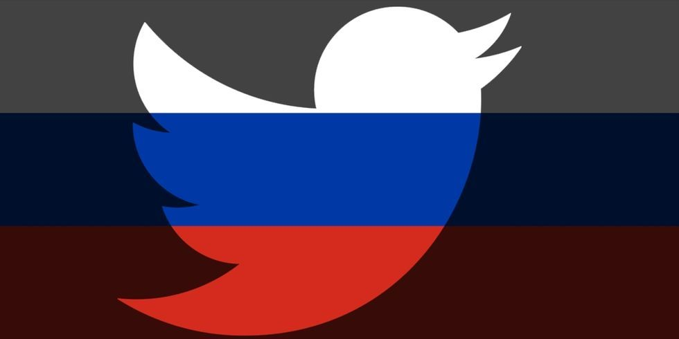 Ryssland stryper hastigheten på Twitter