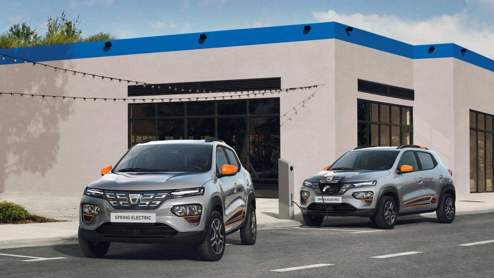 Dacias första elbil Spring kostar 16.990 euro