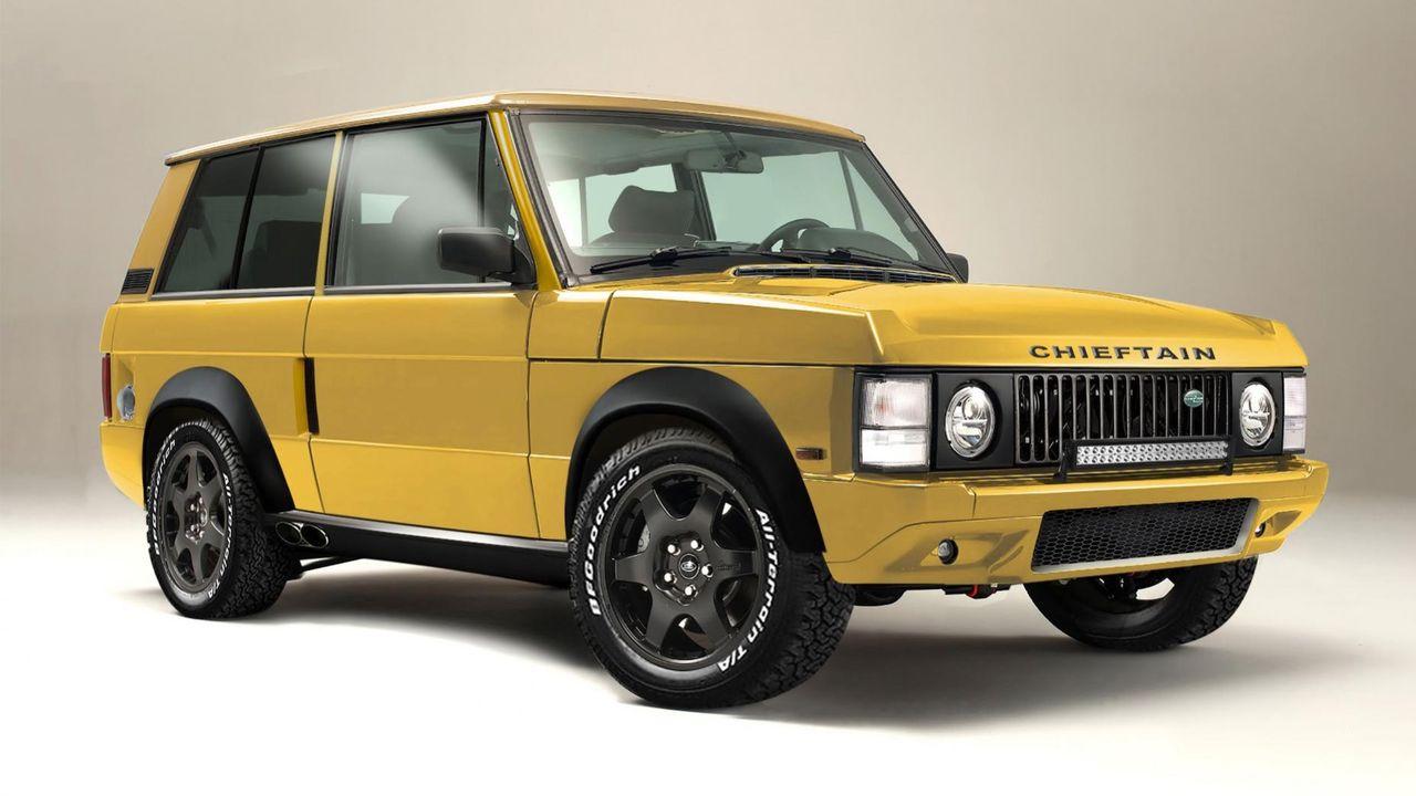 Chieftain presenterar nytt Range Rover-bygge