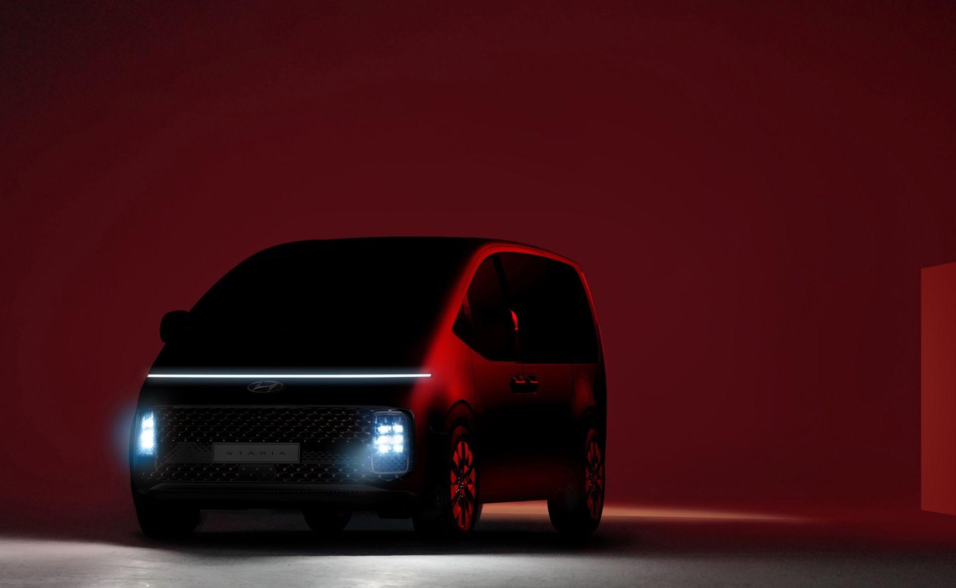 Första titten på Hyundai Staria