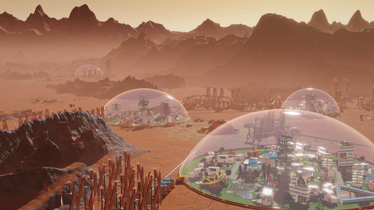 Spela Surviving Mars och Metro 2033