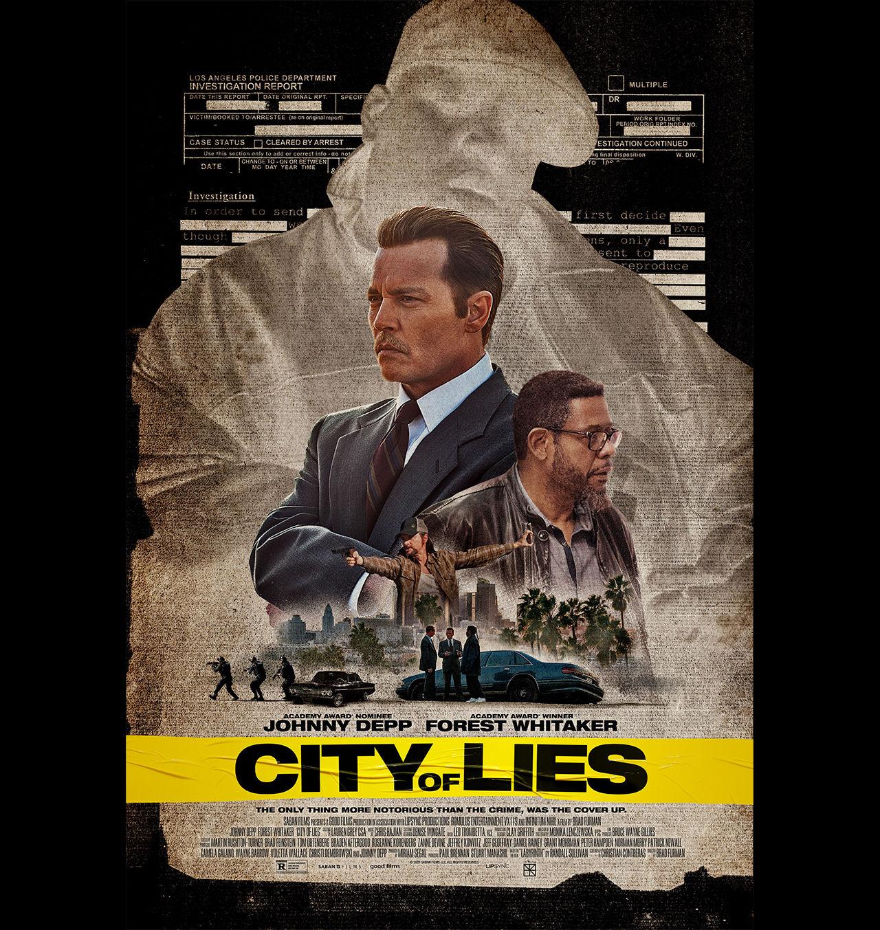 Snart släpps filmen City of Lies