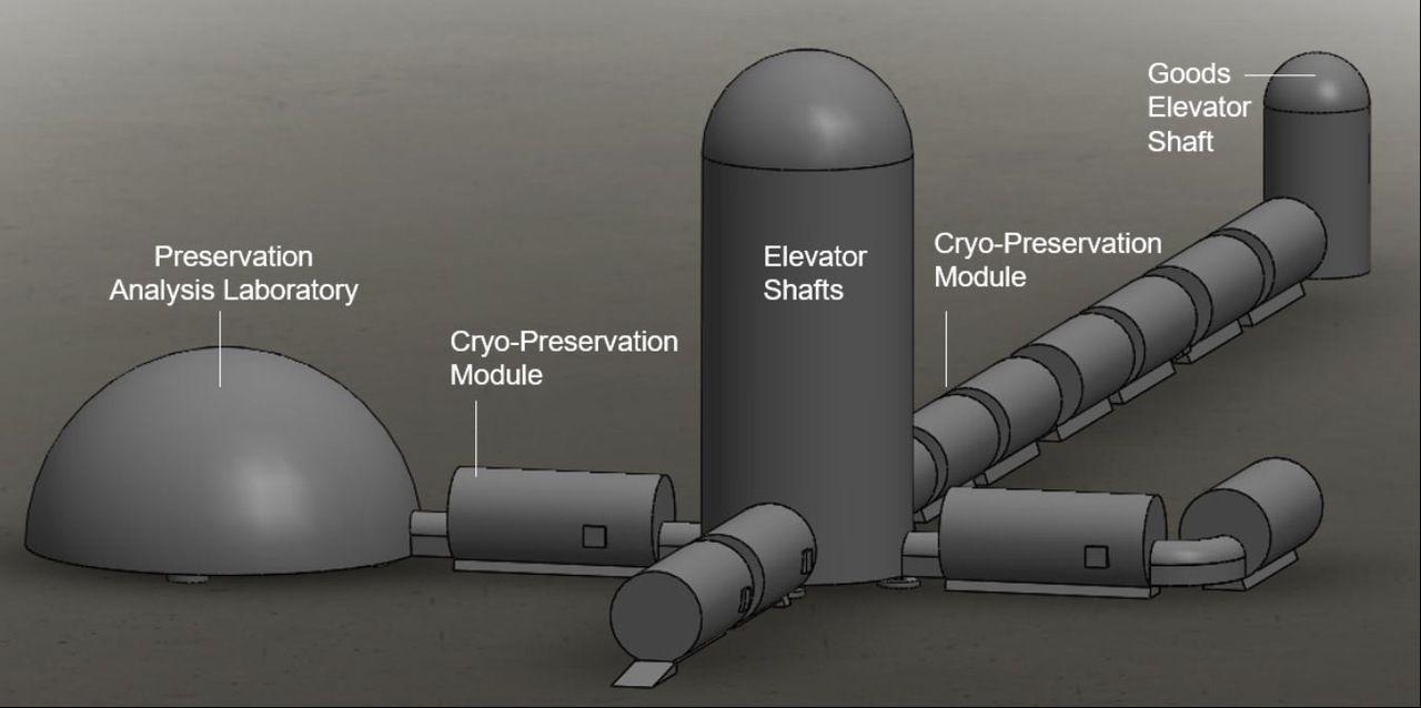Forskare vill bygga underjordiskt domedagsvalv på månen