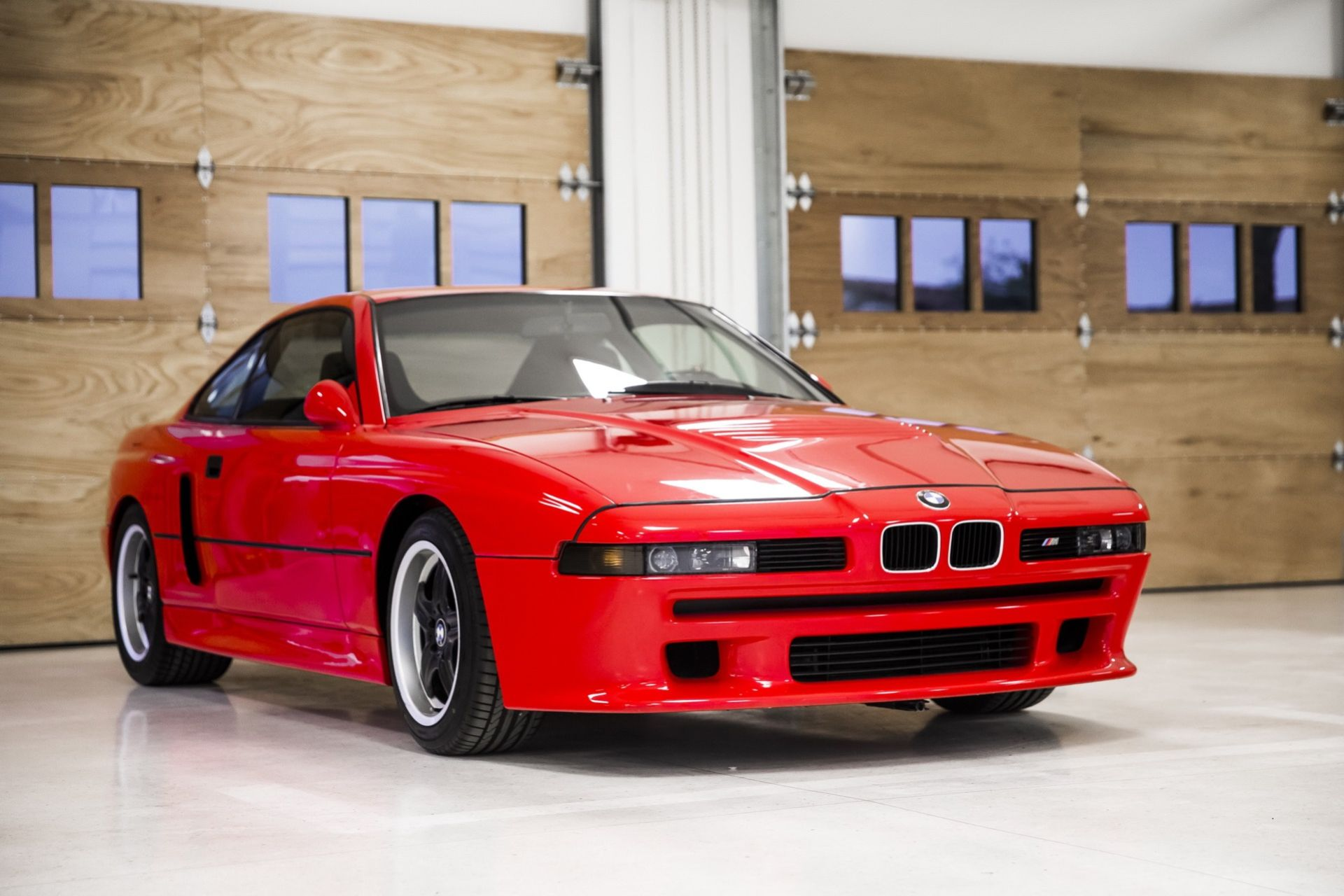 En närmare titt på en gammal BMW M8-prototyp