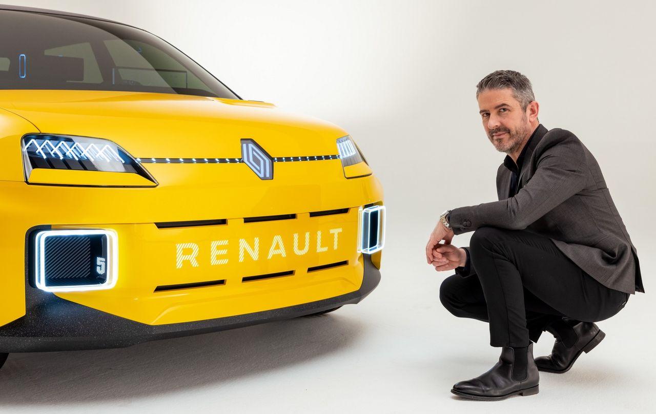 Renault visar ny logotyp