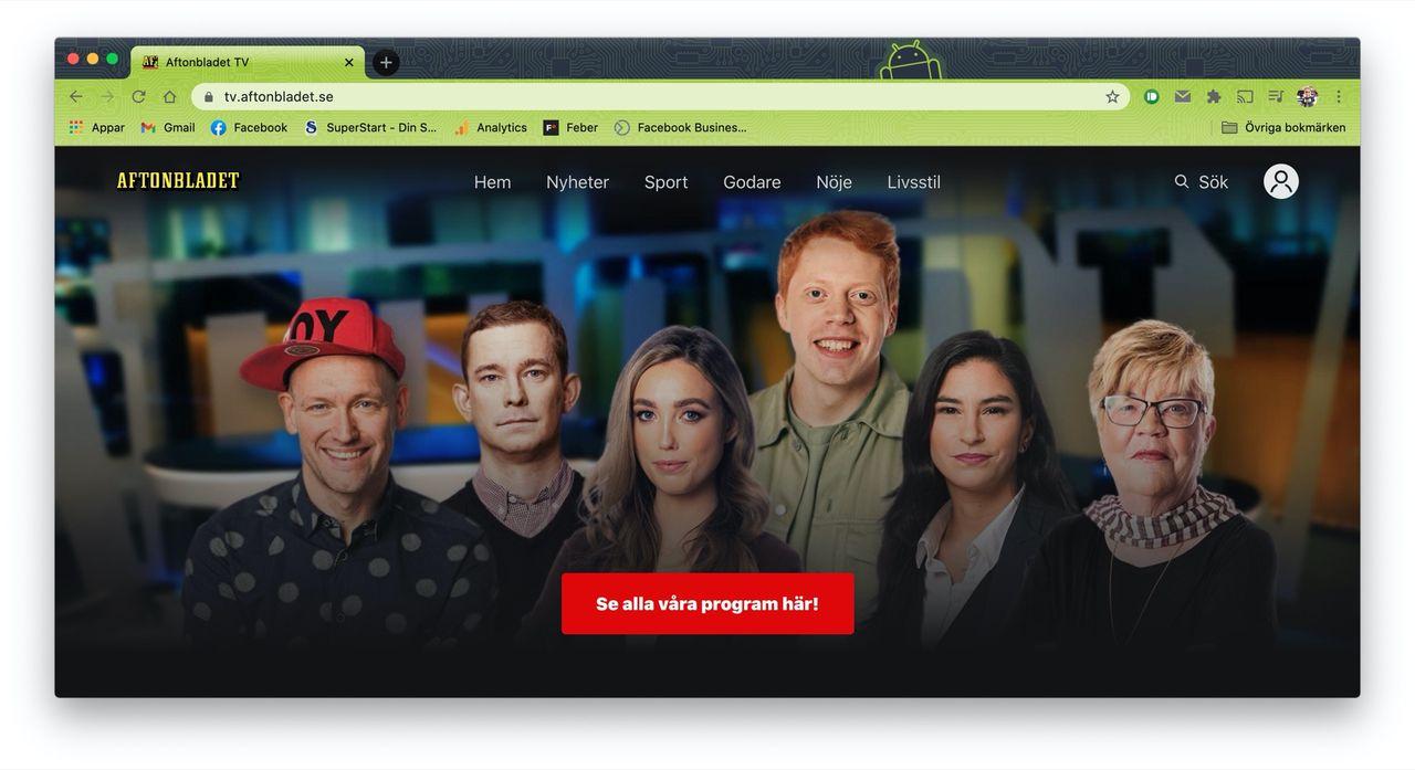 Aftonbladet drar igång en videosajt