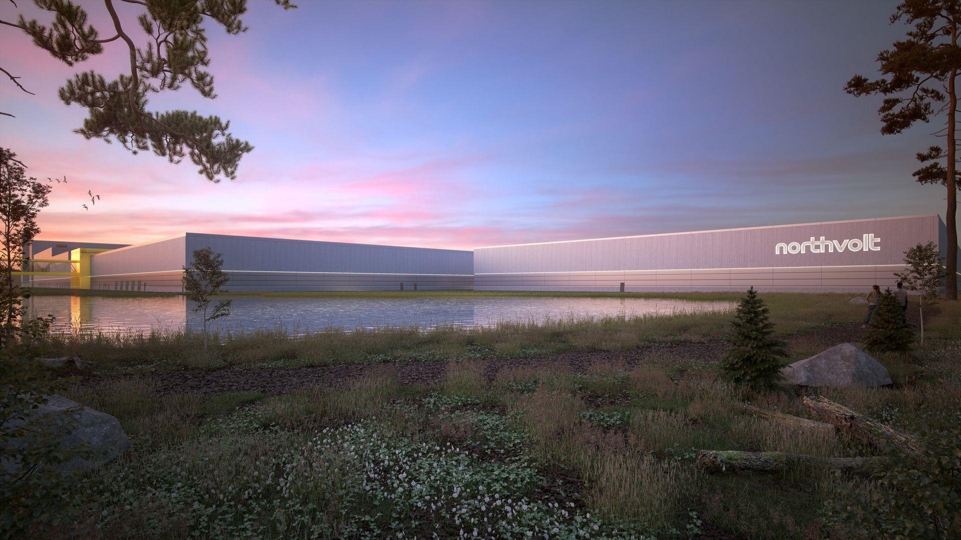 Volkswagen beställer batterier för 140 miljarder av Northvolt