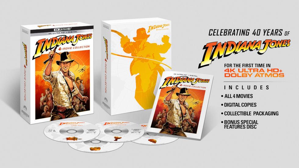Indiana Jones får jubileumsutgåva i 4K