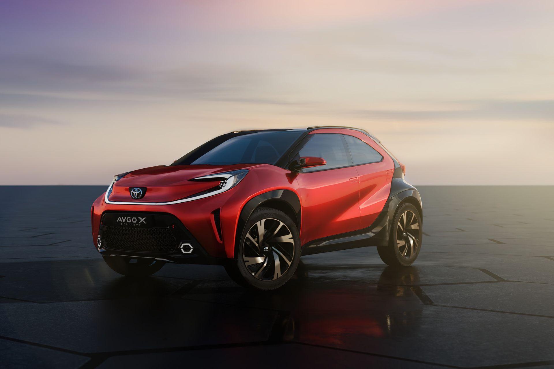Toyota presenterar Aygo X prologue