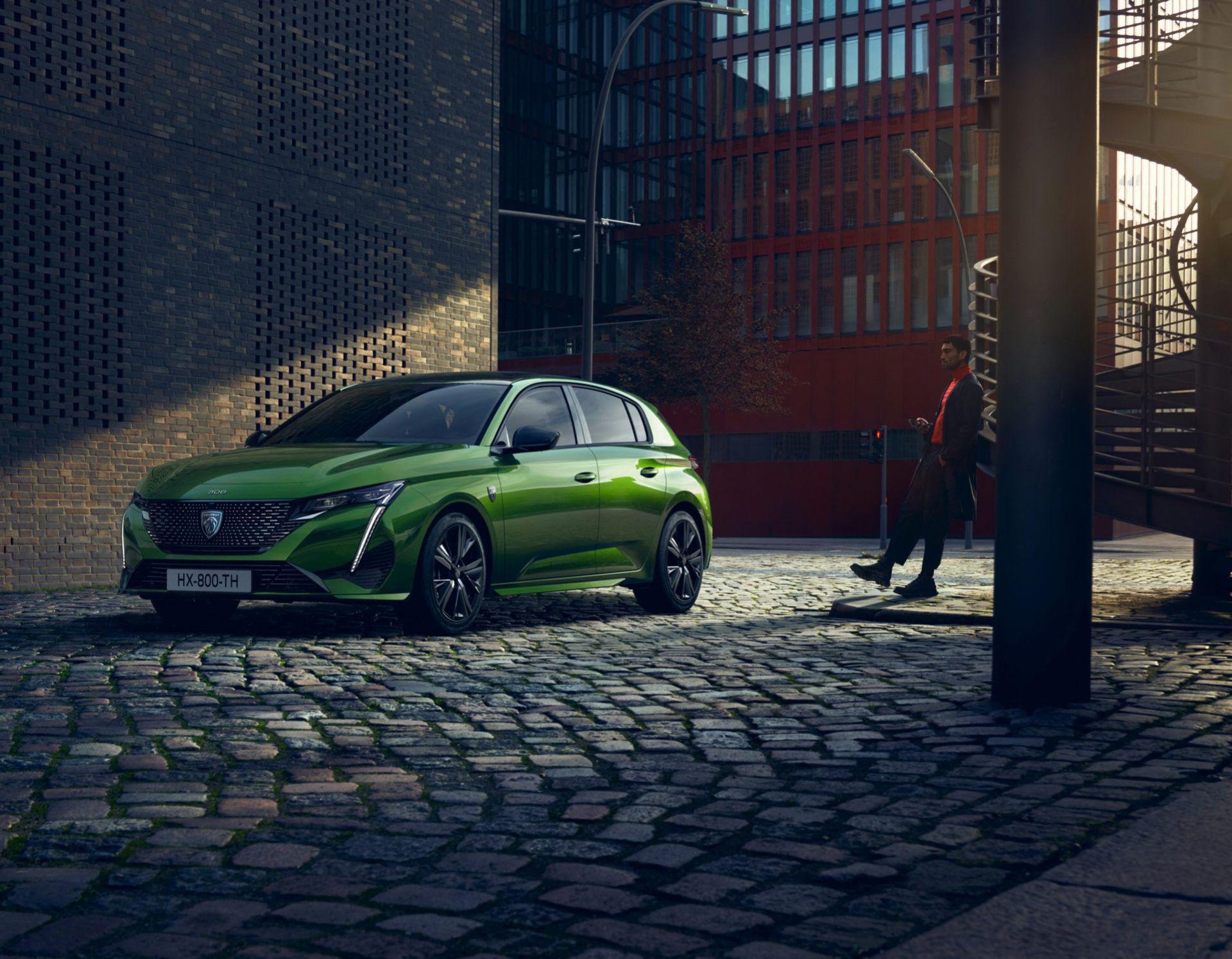 Peugeot presenterar nya 308