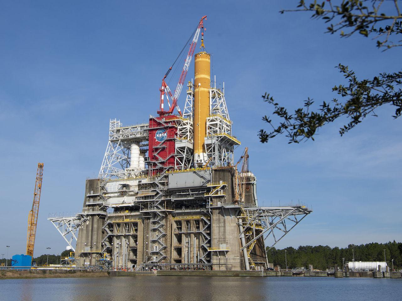 NASA förbereder sig för SLS andra stora motortest