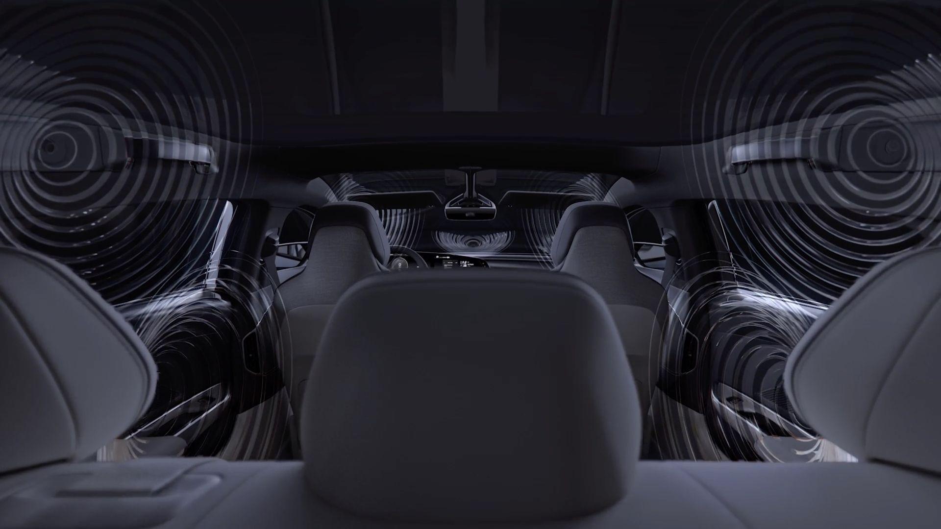 Lucid Air blir den första bilen som får Dolby Atmos