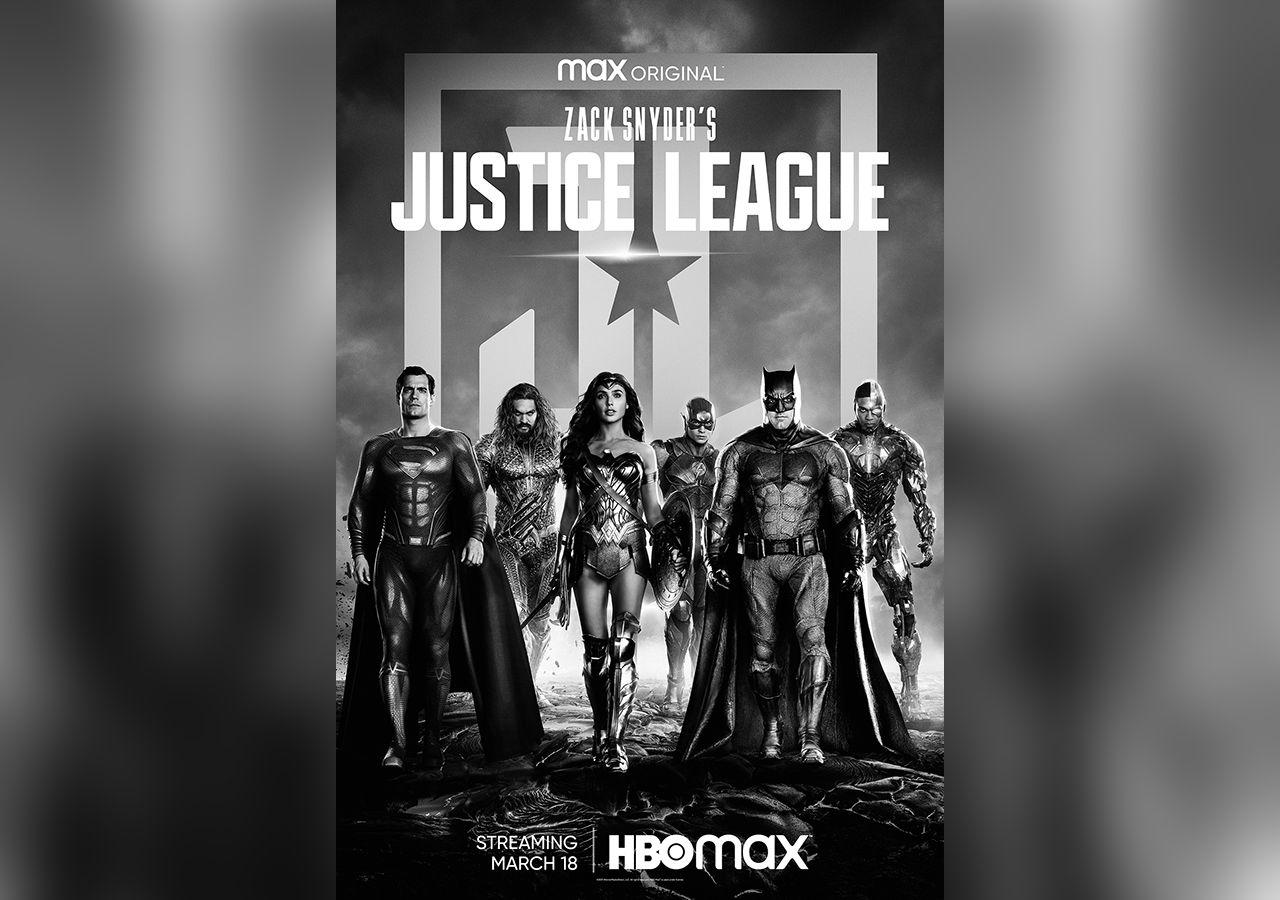Svartvit version av Justice League kommer till HBO