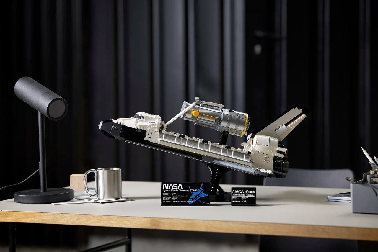 Lego släpper rymdfärjan Discovery som byggsats