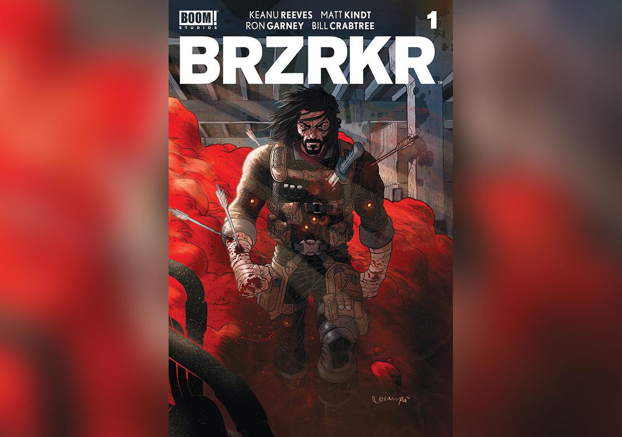 Netflix gör film och tv-serie av Keanu Reeves seriebok BRZRKR