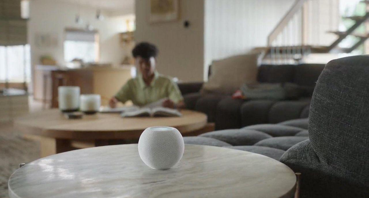 HomePod mini har sensor för temperatur och luftfuktighet