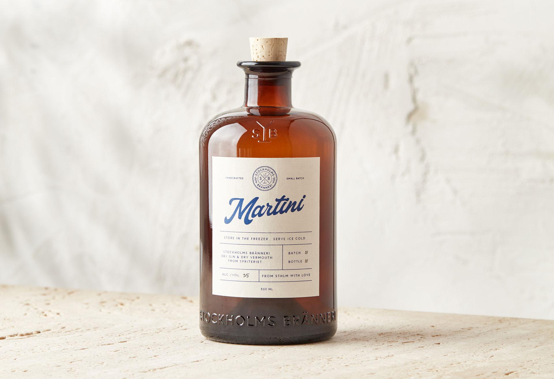 Stockholms Bränneri släpper färdig Dry Martini