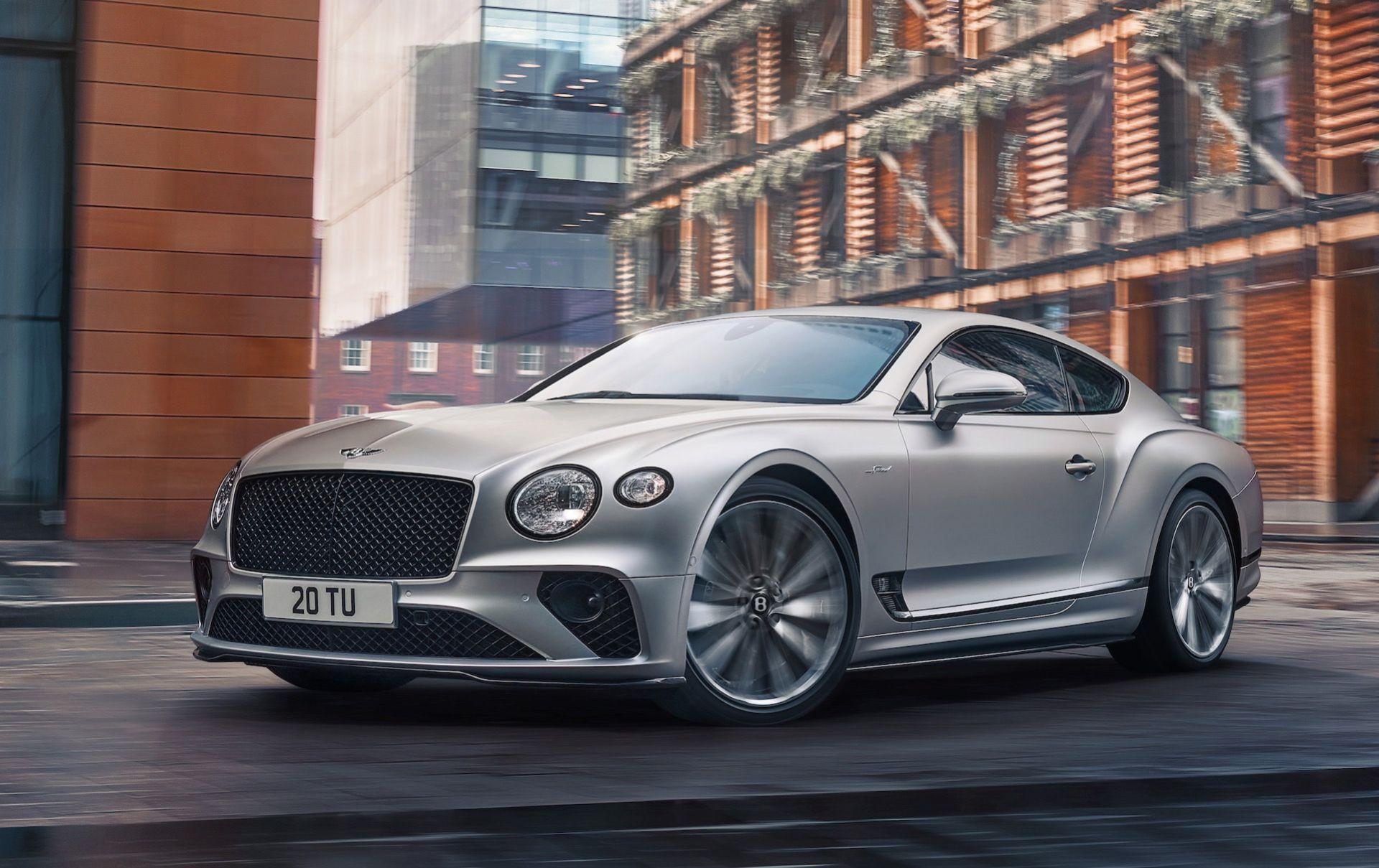 Det här är nya Bentley Continental GT Speed