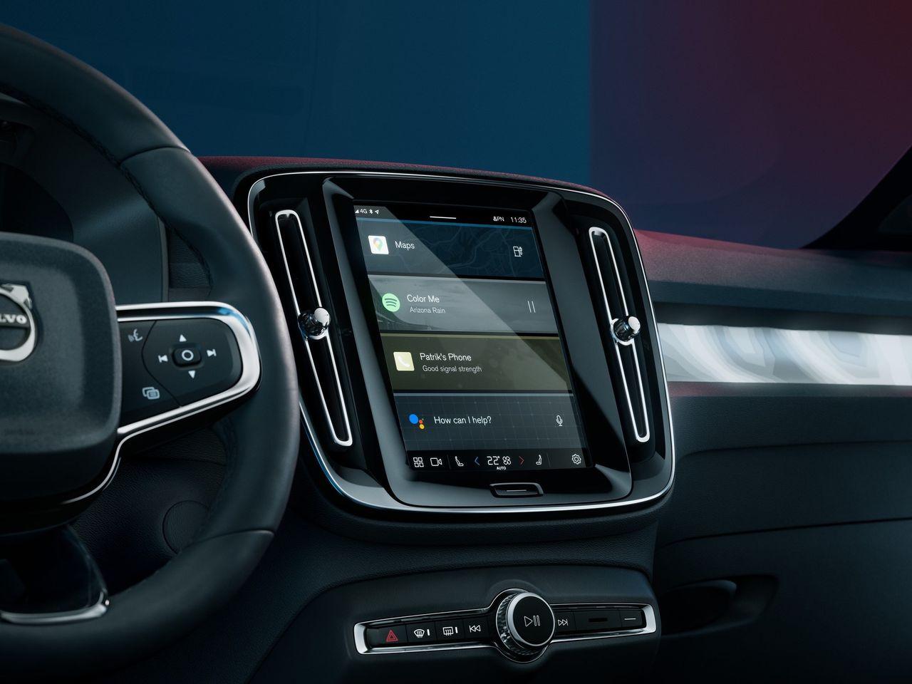 Volvos infotainmentsystem kan användas av andra