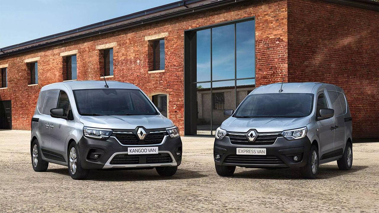 Renault visar upp ny Kangoo Van, Express Van och Trafic