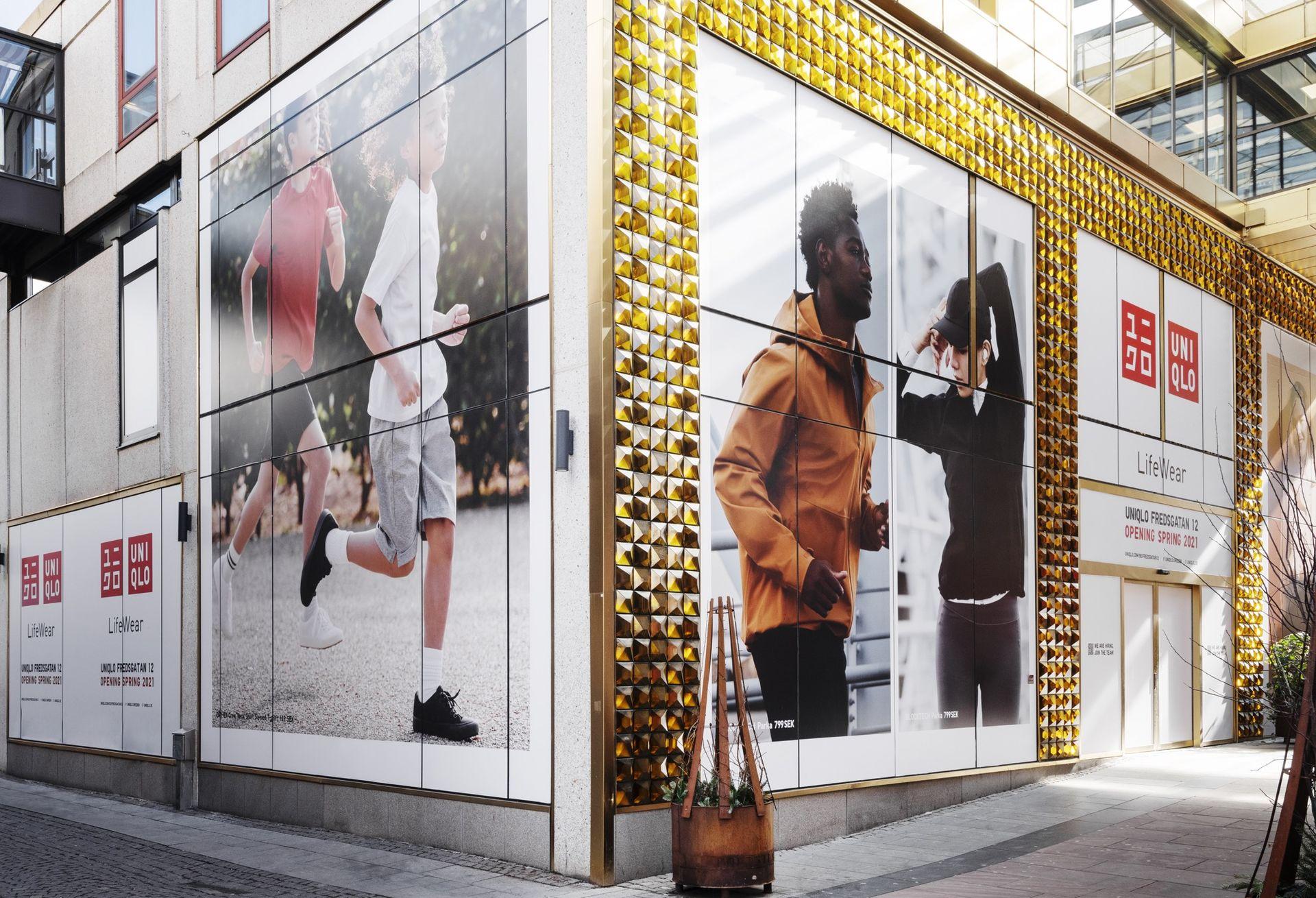 Uniqlo öppnar klädbutik i Göteborg