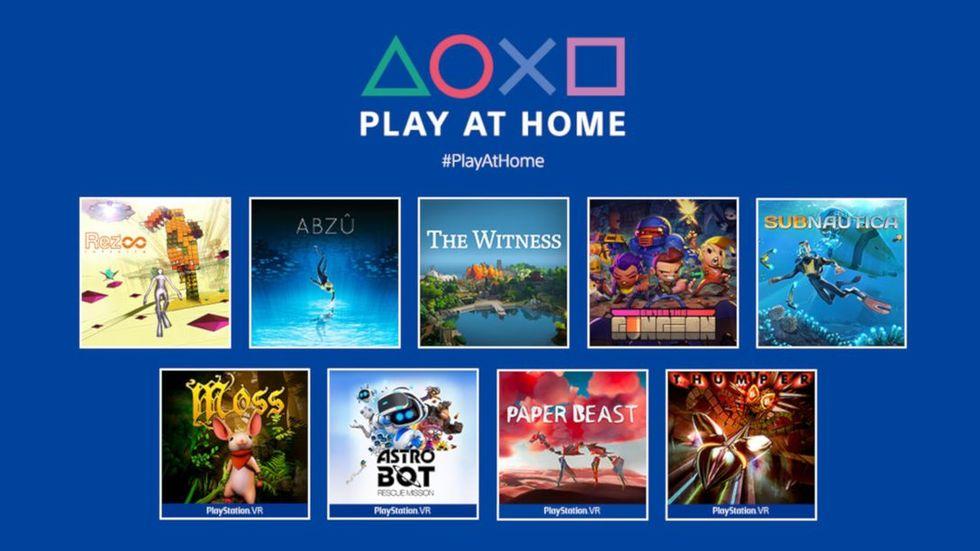 I natt kan ni lira en drös Playstation-spel helt gratis