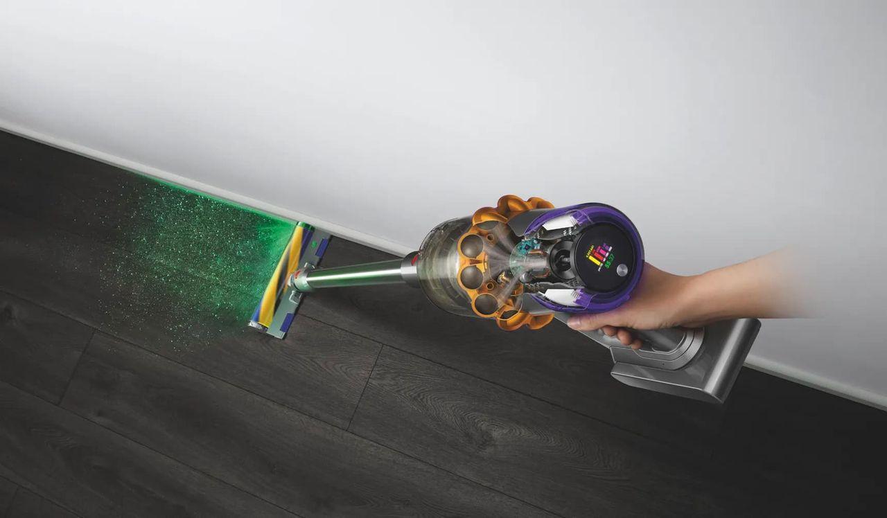 Dyson lanserar dammsugare med lasersökare