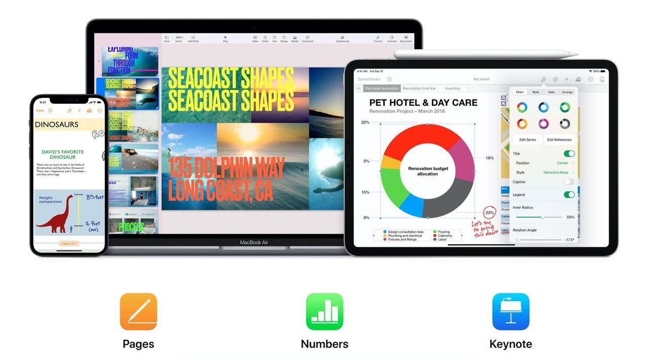 Apple uppdaterar iWorks-appar