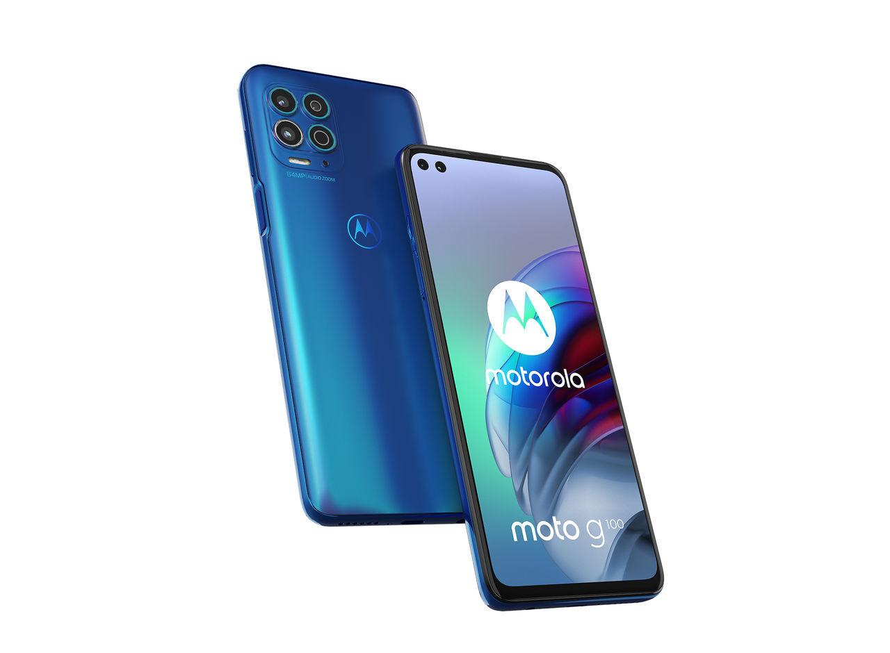 Motorola presenterar Moto G100 med Snapdragon 870